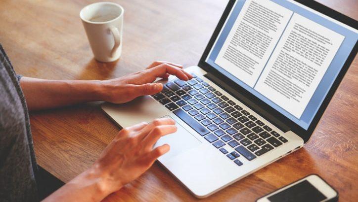 aplicativo para escrever livro na tela do computador