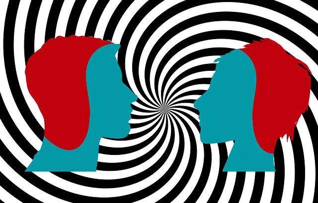 ilustração-de-duas-faces
